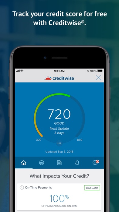Capital One Mobile app image