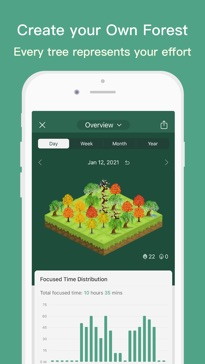 Forest - Stay focused app image