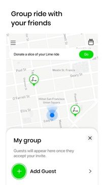Lime - Your Ride Anytime app image