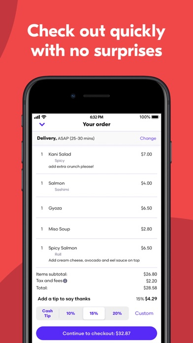 Grubhub: Local Food Delivery app image