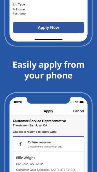 Indeed Job Search app image