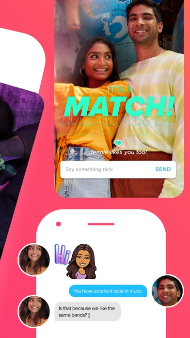 Tinder - Dating & New Friends app image